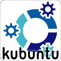 Notebook-Sticker - kubuntu Linux