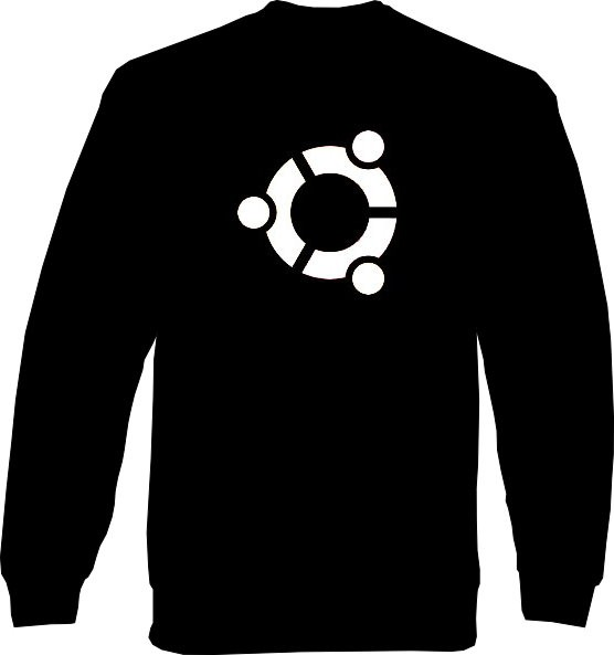 Sweat-Shirt - ubuntu Logo