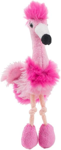 Plüsch-Magnet - Flamingo