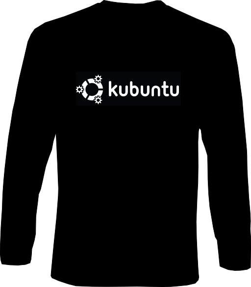 Langarm-Shirt - kubuntu