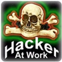 PC-Sticker - Hacker AT Work