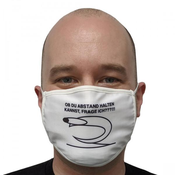 Erzaehlmirnix Gesichtsmaske: Abstand halten