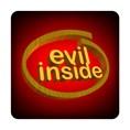 PC-Sticker - evil inside