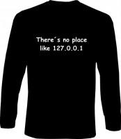 Langarm-Shirt - No Place