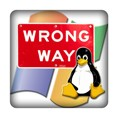 PC-Sticker - Wrong Way