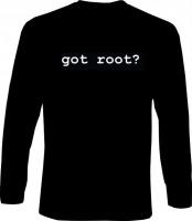 Langarm-Shirt - got root