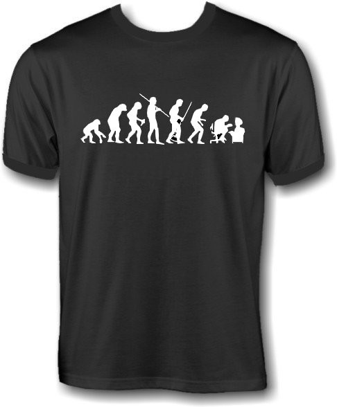 T-Shirt - human evolution