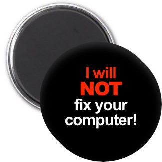 Magnet - I Will Not Fix Your Computer