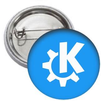 Ansteckbutton - KDE