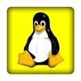 PC-Sticker - Linux - gelb