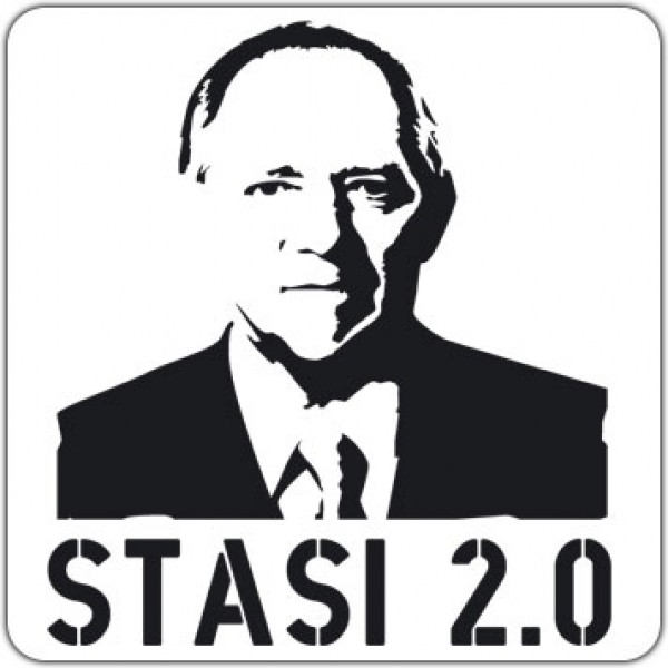 Maxi-Sticker - Stasi 2.0