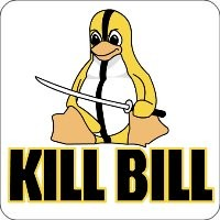 Maxi-Sticker - KillBill