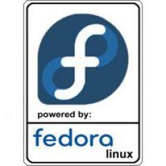 Notebook-Sticker - Fedora Nr.1
