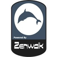 Notebook-Sticker - Zenwalk