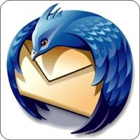 Notebook-Sticker - Thunderbird