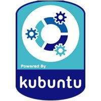 Notebook-Sticker - kubuntu Style