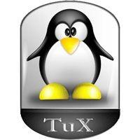 Notebook-Sticker - Tux New Style