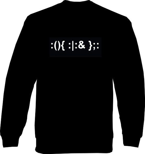Sweat-Shirt - Fork Bomb