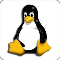 Notebook-Sticker - Tux