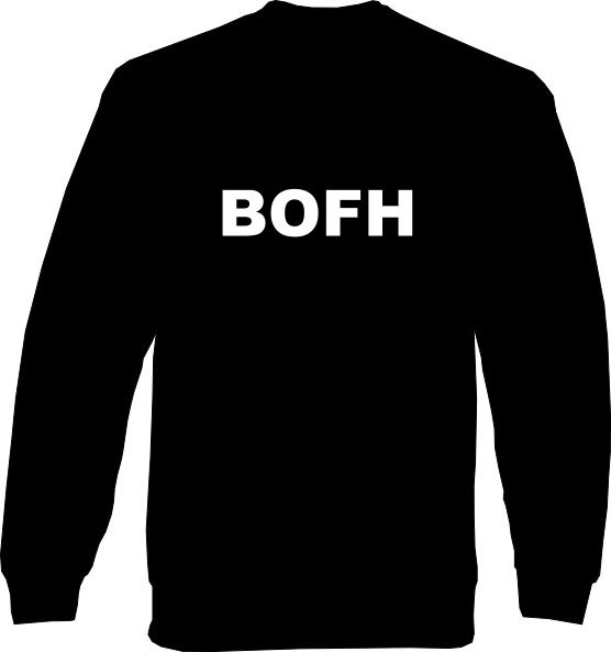 Sweat-Shirt - BOFH