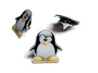 Ansteckpin - 3D Tux