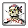 PC-Sticker - Net Pirate Nr.1